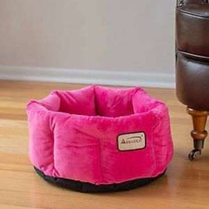 NEW PLUSH HOT PINK CAT OR SMALL DOG BED